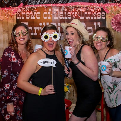 The Krewe of Daisy Dukes celebrates the Mardi Gras