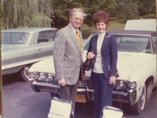 Alyce Wadin and her husband, Keith, took trips to Hawaii,