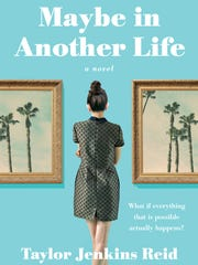 """Maybe in Another Life,"" book cover by Taylor Jenkins"