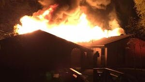 Three children died in a fire at their home in Kosciusko.