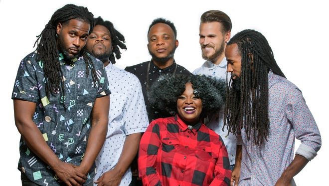 Genre-defying New Orleans band Tank and the Bangas.