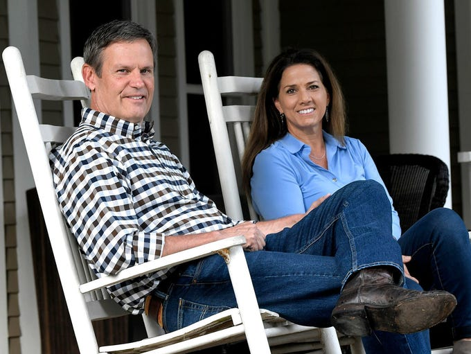 Bill Lee and his wife, Maria, spend time on their Williamson