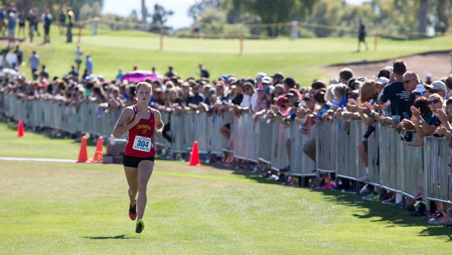 Scottsdale Chaparral High School Girls Cross Country Runner of the Year 2017 nominee Abi Archer.