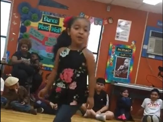 Zoe Hernandez is a student at Crespo Elementary in