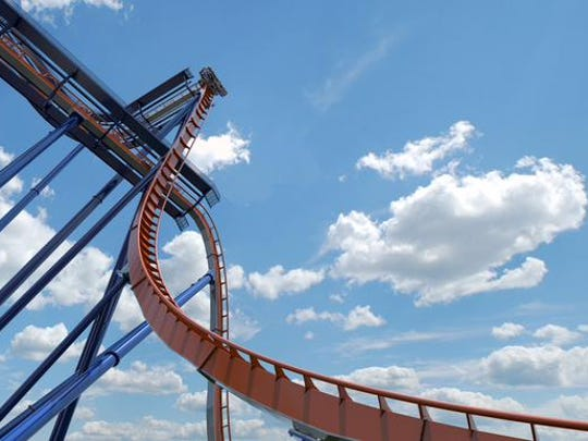 Cedar Point's newest coaster is the Valravn.