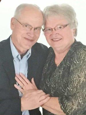 50th wedding anniversary Paul and Ethelyn Gadway