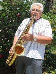 2017 Jazz Camp participant Matthew Roberts proves that