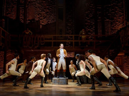 """Hamilton: An American Musical"" runs June 27-July 15,"