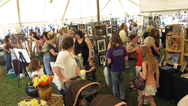 ArtsFest in Athens, Pa., features more than 175 fine arts and crafts artisans.