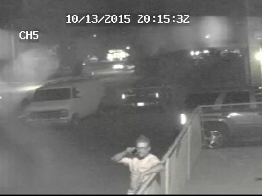 Palmyra Borough Police are seeking information about this man who is a suspect in the theft of a generator Tuesday night from the back of a trailer parked in the 500 block of East Main Street.The thief loaded the white van seen in the rear of the photo.