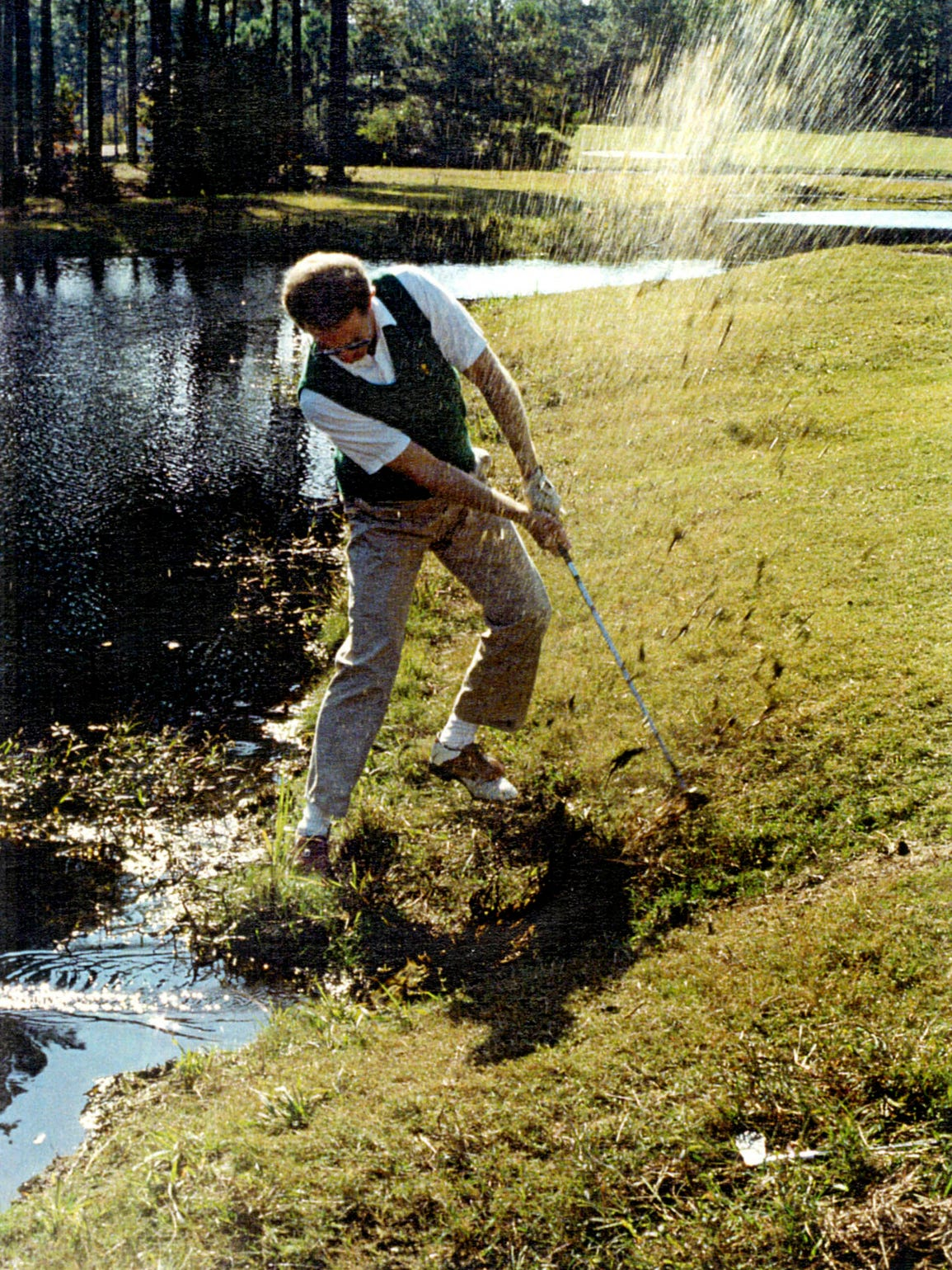 Steve Trattner was hooked on golf but not good enough