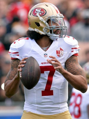 Colin Kaepernick started 11 games for the 49ers in 2016, throwing for 2,241 yards, 16 TDs and 4 INTs.