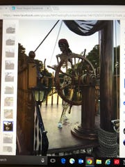 """A Virginia Beach man is offering a """"pirate ship"""" for"""