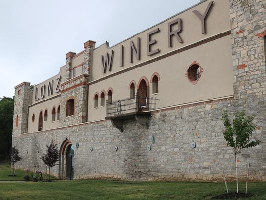 The historic Lonz Winery building on Middle Bass Island
