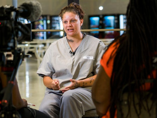 Candace Harp-Harlow speaks about how she ended up back in prison. She's serving time at Mabel Basset Correctional Center in Oklahoma.
