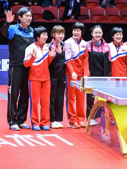 EPA EPASELECT SWEDEN TABLE TENNIS TEAM WORLD CHAMPIONSHIPS SPO TABLE TENNIS SWE