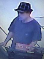 Security camera photo of the robber of a Winn-Dixie in Barefoot Bay.