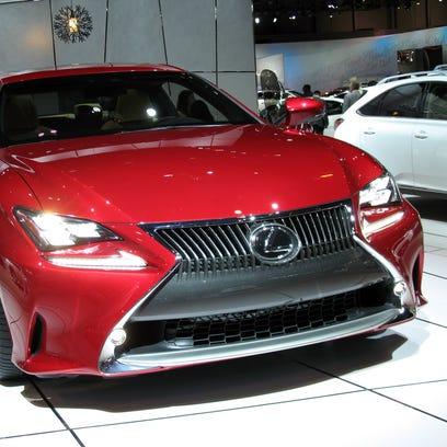 2015 Lexus RC -- 2014 Detroit Auto Show