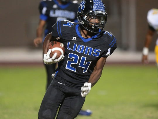 Cathedral City's James Green runs against Coachella