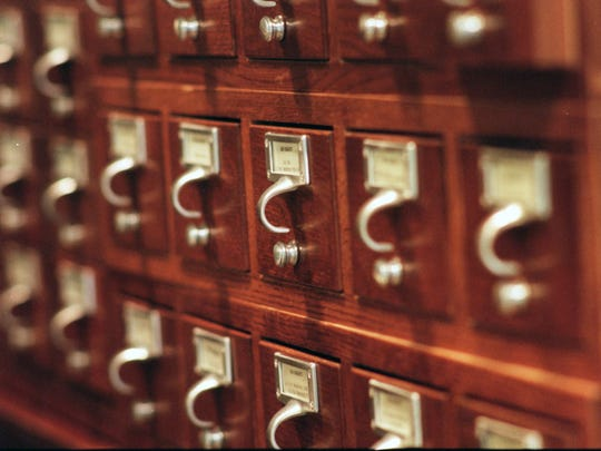 A network shutdown has led some teachers to wish for the days of card catalogs and paper-based systems.