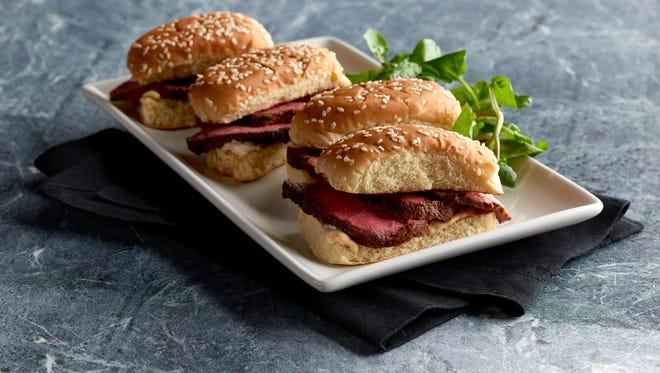 $1 Filet Mignon sandwiches at Morton's The Steakhouse