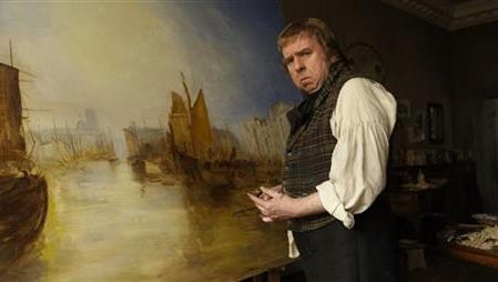 """Timothy Spall appears in a scene from """"Mr. Turner."""""""
