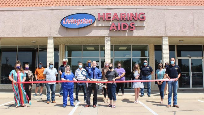 The Stephenville Chamber of Commerce celebrated the new Livingston Hearing Aid Center location with a Ribbon Cutting ceremony. For over 65 years, the mission of the Livingston Hearing Aid Center team is not only to provide a service but to also craft a positive experience - from initial consultation to treatment options and follow-up. Coming to terms with hearing loss and seeking help can feel overwhelming; that's why competent and compassionate patient care is the priority of the Livingston team led by local audiologist Dr. Blake Larue.