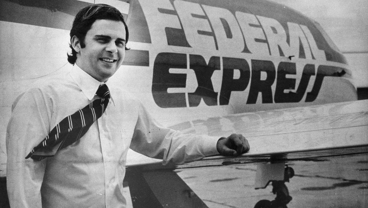 FedEx Founder Fred Smith through the Years