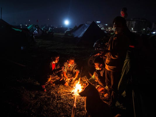 BESTPIX Death Toll Reaches 4000 Following Devastating Nepal Earthquake