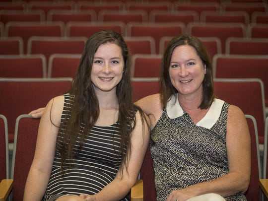Chenango Valley High School graduating senior Tess Hatton, 18, and her mother, Teresa Hatton.