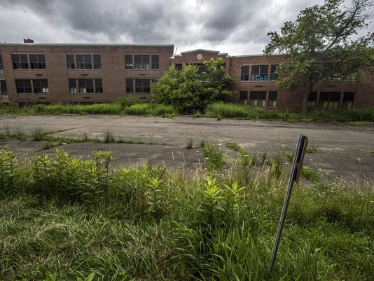 Vacant since 2002, old CF high school goes on sale again