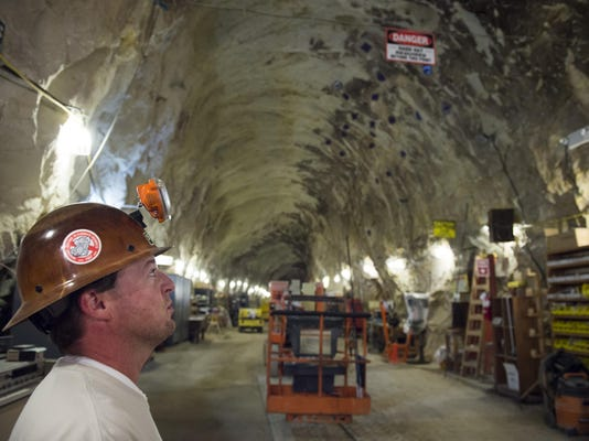 Explore the belly of Mount Diablo in mine tour