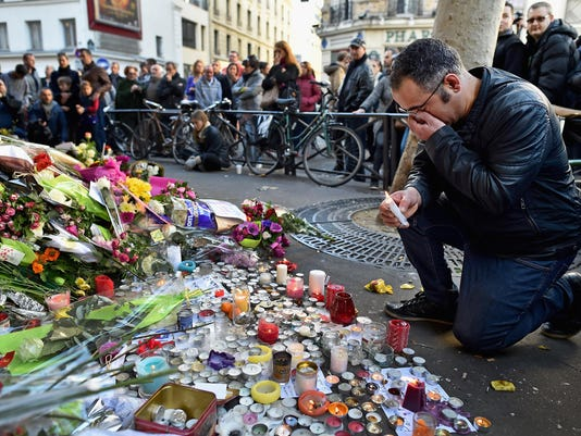 BESTPIX France Honours Attack Victims As The Nation Mourns