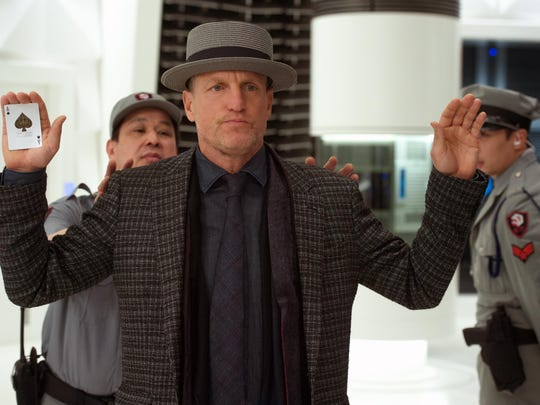 """Woody Harrelson appears in a scene from """"Now You See Me 2."""""""