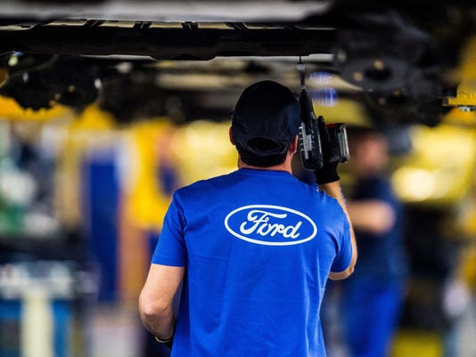 Ford Car Manufacturing Plant In Valencia
