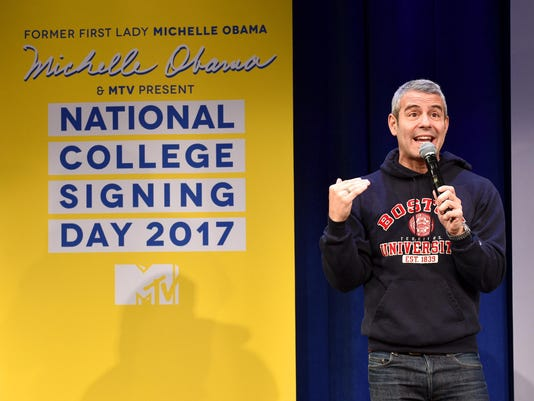 MTV's 2017 College Signing Day With Michelle Obama - Inside
