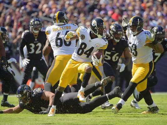 Steelers beat Ravens, 26-9, for first time in 5 years in Baltimore