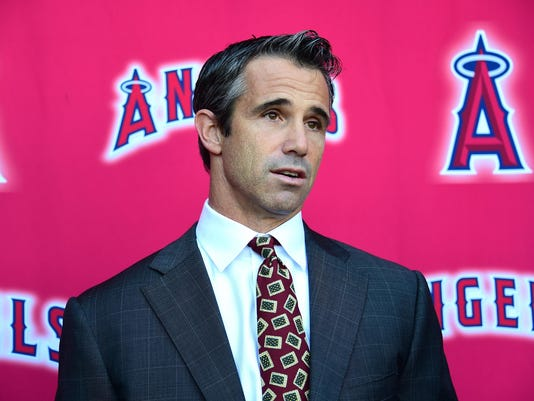 Los Angeles Angels of Anaheim Introduce Brad Ausmus