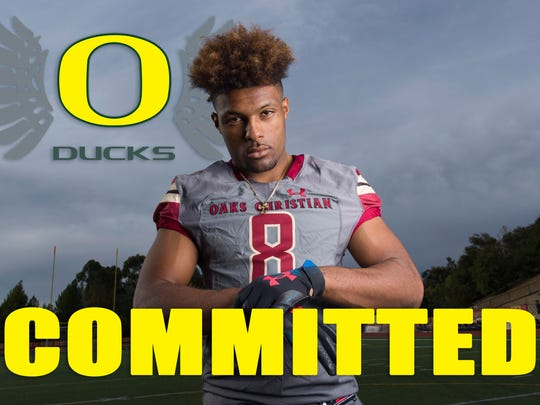 Kayvon Thibodeaux commits to Oregon. (Photo: Kelvin Kuo-USA TODAY Sports Images)
