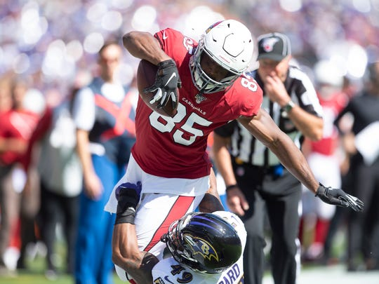 Keep an eye on David Johnson this weekend. Photo by Ralph Freso/Getty Images