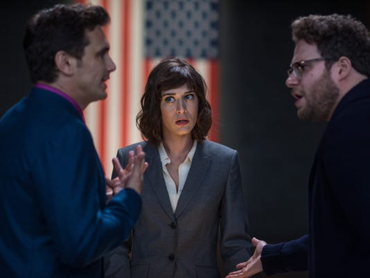 Lizzy Caplan goes from 'Freaks' to killing Kim Jong Un
