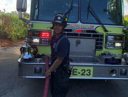 Greater Naples Fire Rescue District firefighter Doug