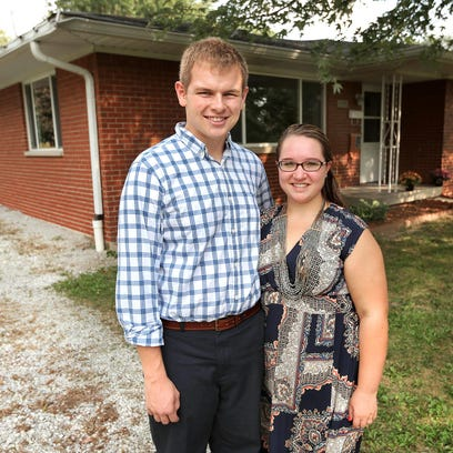 Millennials Brandon and Allison Anderson just bought