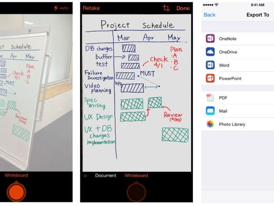 """Your iPhone is also a flatbed scanner. Use the free Office Lens app to """"scan"""" documents, businesses cards, whiteboards, and more."""