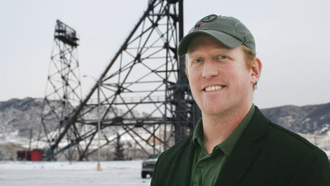 In this photo taken on Dec. 20, 2013, Robert O'Neill a former Navy Seal team member, poses for a photo in Butte.