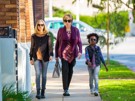 "From left, Amanda Seyfried as Anne Sherman, Shirley MacLaine as Harriet Lauler and Ann Jewel Lee as Brenda in ""The Last Word."""