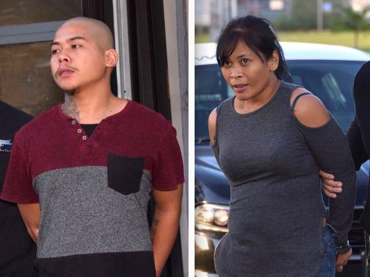 couple arrest in onward burglary case