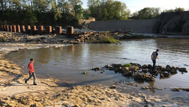 Removal of the Ballville Dam is expected to be completed by September. The overall project is slated for completion Dec. 31.