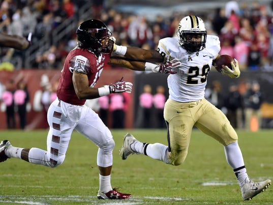 NCAA Football: Central Florida at Temple