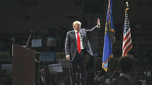 President Donald Trump, pictured here during a 2016 visit to Oklahoma, will make a campaign stop in Tulsa next week. Bryan Terry/The Oklahoman file